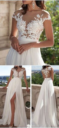 Beautiful Beach Wedding Dresses (7)