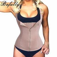 1ef261da4a Bodysuit Women Slimming Zipper Waist Trainer