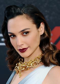 Gal Gadot at the premiere of Fast & Furious 6 in Hottest Female Celebrities, Celebs, Gal Gardot, Gal Gadot Wonder Woman, Most Beautiful, Beautiful Women, 1920s Hair, Woman Crush, Hollywood Actresses