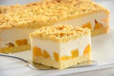 Sernik z jogurtów greckich Cheesecakes, Vanilla Cake, Goodies, Food And Drink, Cooking Recipes, Sweets, Yogurt Cake, Brownies, Polish