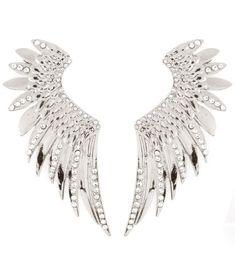 Crystal Angel Wings Earrings