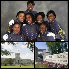 """#BlackHistoryMonth: In May 2002, the first black female cadets graduated from The Citadel six years after the state military college opened its gates to women. """"Coming into school, we weren't thinking about coming in as African Americans. We were more concerned about being females,"""" said Natosha Mitchell. Their graduation comes 32 years after the first African American man joined the long gray line, that is, the long line of Citadel alumni. Charles Foster was the first black cadet to…"""