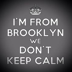 Nope!!! My Borough is Thorough  #BrooklynShit #HometownLove #Brooklyn  #NY #Padgram