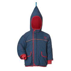 Finkid Winterjacket - Winterparka - Skijacket - TALVI - navy/red