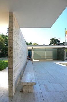 Clásicos de Arquitectura: El Pabellón Alemán / Mies Van der Rohe © Flickr: usuario- nicholasngkw