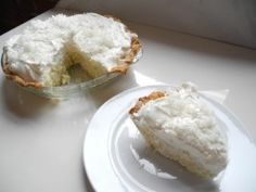 Lorie's Ultimate Coconut Cream Pie from CookingChannelTV.com