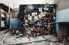 New York-based British photographer Giles Clarke uncovers the inhumane conditions of El Salvador's gang prisons in a series he calls Caged In El Salvador.  /Giles_Clarke_Photography