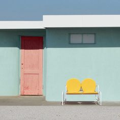 The Mother Road: Photography Series by Hayley Eichenbaum Road Photography, Minimal Photography, Photography Series, Colour Photography, Editorial Photography, Color Patterns, Color Schemes, Graphic Patterns, Minimalist Architecture