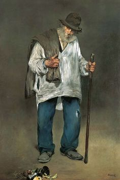 "Edouard Manet. ""Le Chiffonnier"" (Rag picker) 1865."