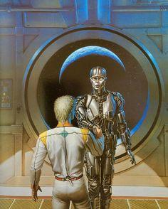 Michael Whelan | ILLUSTRATION | Robots and Empire (Isaac Asimov, 1986)