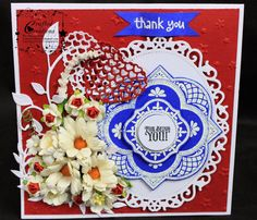 #cheeryld Red, White and Blue Challenge Winner!  What wonderful entries we had last week. Using Random.org the winner of our Red, White and Blue challenge is Charu Joshi! http://craftedcreations11.blogspot.in/2014/06/thank-u-for-being-u.html