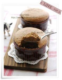 「ふわ♪しゅわ♪カフェモカスフレ」satomi* | お菓子・パンのレシピや作り方【corecle*コレクル】