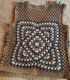 51 mentions J& 2 commentaires - _Mari . Crochet Blouse, Knit Crochet, Boutique Clothing, Fashion Boutique, Herringbone Stitch Tutorial, Weave Shop, Crochet Waistcoat, Crochet Doll Clothes, Crochet Patterns