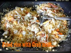 Thai Fried rice with Crab Meat