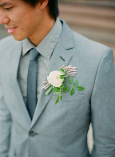 Dapper in gray | Photography: Carmen Santorelli