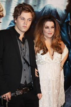 Benjamin and Lisa-Marie (Elvis grandson and his daugther)