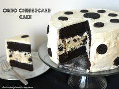 Oreo Cheesecake Cake.... oh WOW!!