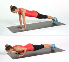 The Tiny Tweak That Will Help You Make the Most Out of a Push-Up