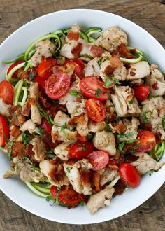 Chicken with Lemon Basil Sauce is a fast, simple, and delicious dinner! - get the recipe at barefeetinthekitchen.com