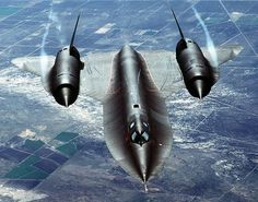 SR-71 Blackbird. Retired/obsolete but still looks awesome for a plane that's over 50 years old.