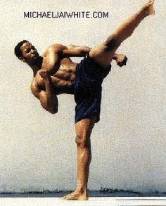 Michael Jai White...god   I love it when he does that hahahaha:) HAWT!!!