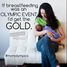 Undercover Mama #momolympics #breastfeeding