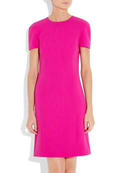 Michael Kors - stretch wool-crepe dress << wish I could find a cheap version of this dress!