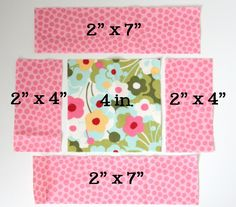 Cluck Cluck Sew, Square-in-a-Square quilt tutorial. Big Block Quilts, Strip Quilts, Small Quilts, Easy Quilts, Mini Quilts, Quilt Blocks, Scrappy Quilts, Quilting For Beginners, Quilting Tutorials