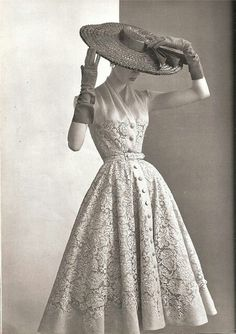 1950s inspired Dior