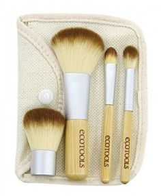 Eco Tools vegan brushes are also great, inexpensive, and can be found at most drugstores :)
