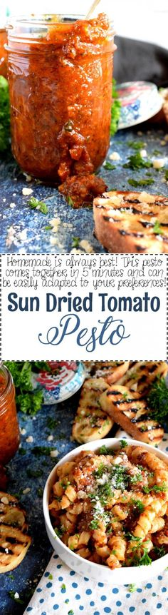 Sun Dried Tomato Pesto - Lord Byron's Kitchen