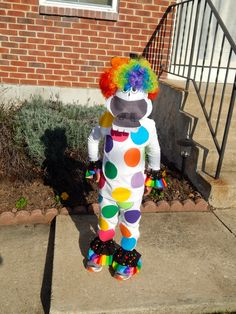 DIY Marty the Zebra the costume from Madagascar 3