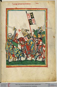 Duke Johann (or Jan) of Brabant (1254-1294 by) was one of the most respected princes of his time. He arrived with his victory at the Battle of Worringen in 1288, the Association of Brabant with Luxembourg. He died in 1294 the consequences of a breach of competition.