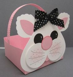 bunny basket with instructions