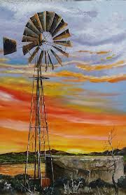 namakwaland windmill drawings - Google Search Windmill Drawing, Windmill Art, South African Art, Learn To Paint, Landscape Art, Painted Rocks, Paintings, Google Search, Learning