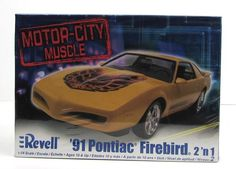1991 Pontiac Firebird model kit   Made by Revell in 1/24 scale.  …