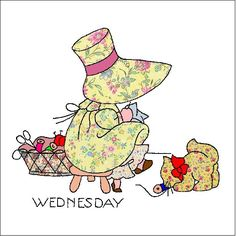 Sunbonnet inspiration Wednesday