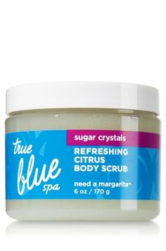 Need A Margarita Citrus Body Scrub - True Blue® Spa - Bath & Body Works