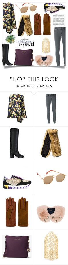 """I want one of those"" by gloriaruth-807 ❤ liked on Polyvore featuring Dolce&Gabbana, Elizabeth and James, Lanvin, Yves Salomon, MICHAEL Michael Kors and Kendra Scott"