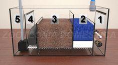 Sump húmedo, esquema compartimentos