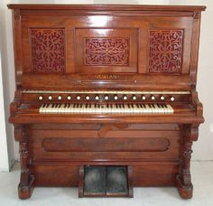 Aeolian Orchestrelle Model A - from the collection of the French Harmonium Association