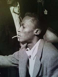 The master of jazz... And inspiration of creativity! The King of Cool! #King #MilesDavis