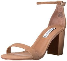 online shopping for Steve Madden Women's Declair Dress Sandal from top store. See new offer for Steve Madden Women's Declair Dress Sandal Steve Madden, High Heels, Shoes Heels, Top Shoes, Dress Sandals, Heeled Sandals, Block Heels, Open Toe, Ankle Strap