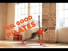 Best Pilates Exercises If You Sit All Day - YouTube