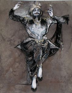 Gregg Barnes is one of the greatest costume designers and illustrators. Check-out incredible images of his work. SIDE SHOW