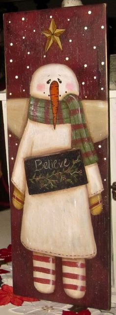 Page Moved. Please Wait. Christmas Wood Crafts, Snowman Crafts, Primitive Christmas, Christmas Signs, Country Christmas, Christmas Art, Christmas Projects, Holiday Crafts, Christmas Decorations