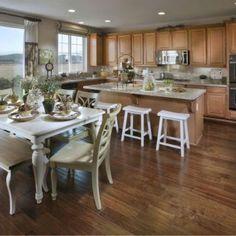 House kitchen Dinning room