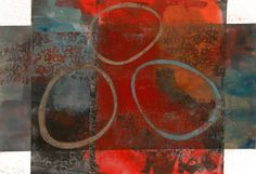 """Calibrated Curiosity, by Anne Moore, monotype, 14""""x20"""""""
