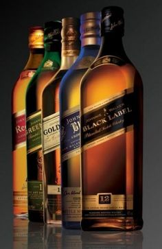 Gorgeous Group Shot of Johnnie Walker Labels ! Good Whiskey, Cigars And Whiskey, Scotch Whiskey, Irish Whiskey, Whiskey Bottle, Booze Drink, Whiskey Cocktails, Fun Drinks, Alcoholic Drinks