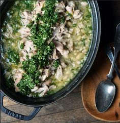 This fresh and brightly-flavored Lemon-Braised Chicken and Beans with Mint Pesto is the only slow-cooked lemon chicken recipe you'll ever need. This lemon chicken with mint recipe is off the charts flavor-wise.